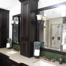 Traditional Bathroom by Compass Design, llc