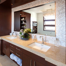 Contemporary Bathroom by About:Space, LLC
