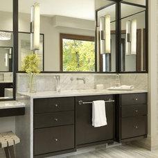 Contemporary Bathroom by Glen Alspaugh Kitchens and Baths
