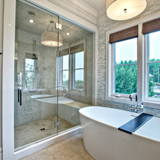 Contemporary Bathroom by Rockwood Custom Homes
