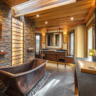 Warm Contemporary Rustic Remodel in Issaquah