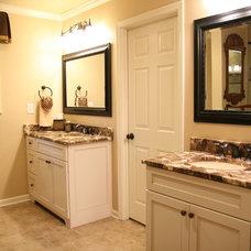 Traditional Bathroom by Robinson Interiors