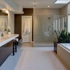 Modern Bathroom by gindesigns, llc