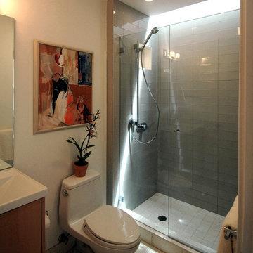 Warm Modern in Noe Valley-Bathroom