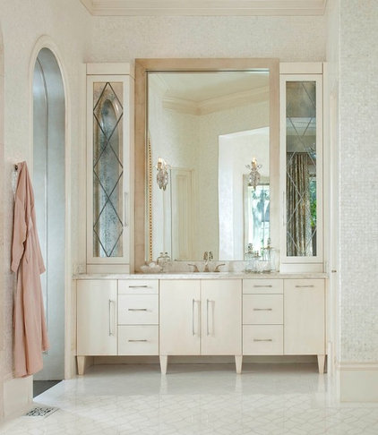 Transitional Bathroom by Dallas Design Group, Interiors