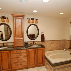Traditional Bathroom by Keilty Remodeling Inc