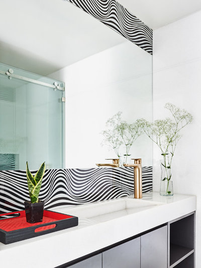 Contemporary Bathroom by ZERO9