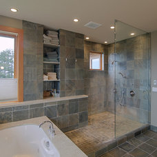 Contemporary Bathroom by J.A. Hand Construction, Inc.