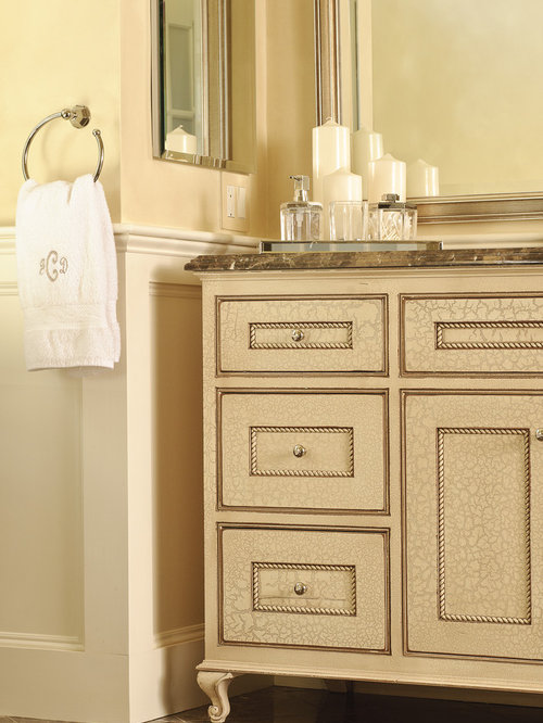 Inspiration For A Timeless Bathroom Remodel In Boston With Recessed Panel  Cabinets