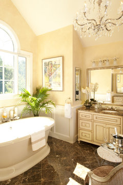Bathroom Blahs Need An Elegant Escape