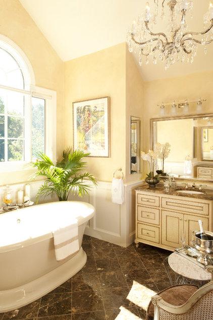 Traditional Bathroom by Haddad Hakansson LLC