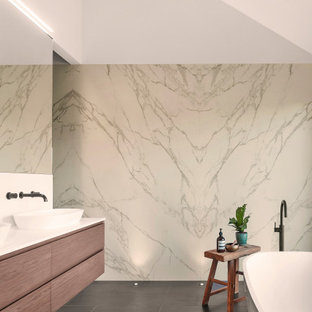 Inspiration for a contemporary bathroom in Perth.