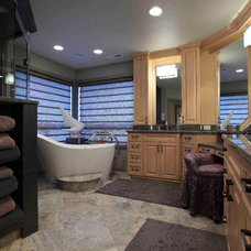 Traditional Bathroom by Kitchen & Bath ReStylers