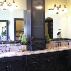 traditional bathroom by April Elizabeth
