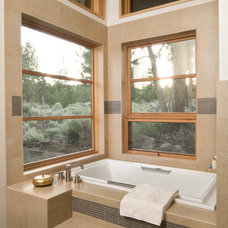 Contemporary Bathroom by tozer design, llc