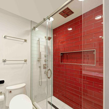 Washington DC Modern Kids Bathroom