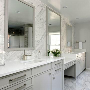 Washington DC-Modern-Master-Bath