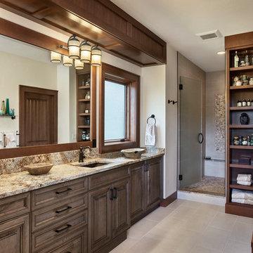 Washington Mountain Retreat, Timber Frame Home - Cle Elem Residence