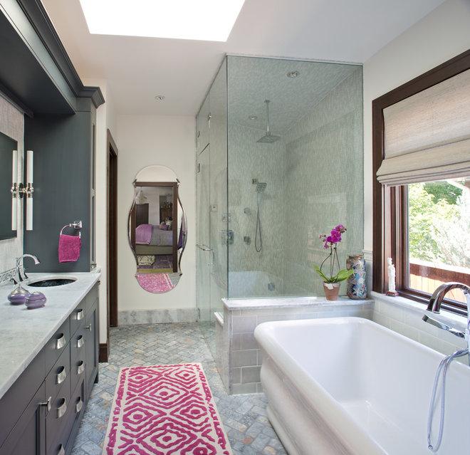 Eclectic Bathroom by Atelier Interior Design