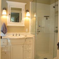 Traditional Bathroom by The Johnson Partnership