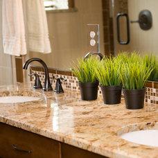 Traditional Bathroom by AK Interior Design