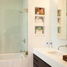 Contemporary Bathroom Washington Street House