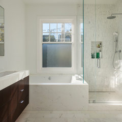 contemporary bathroom by Design Line Construction, Inc.