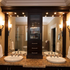 Traditional Bathroom by Sonbuilt Custom Homes Ltd.