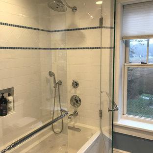 Salle de bain romantique Bridgeport : Photos et idées déco ...