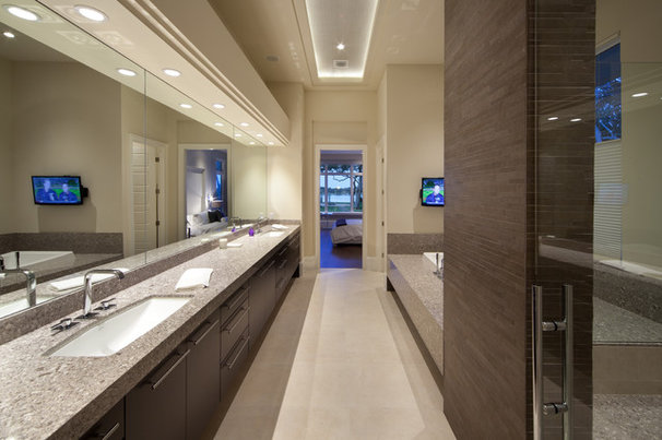 Contemporary Bathroom by Dave Brewer Homes