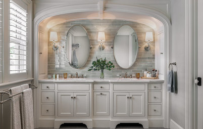 New This Week: 5 Vanity Walls With Fresh Design Ideas