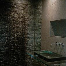 Contemporary Bathroom by Kasper Custom Remodeling, LLC