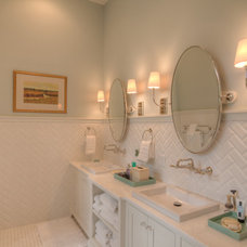 Beach Style Bathroom by Envision Builders Group