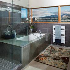 Contemporary Bathroom by Carney Logan Burke Architects