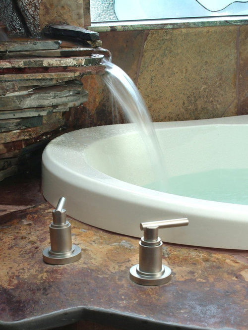 Waterfall Faucet Home Design Ideas Pictures Remodel And