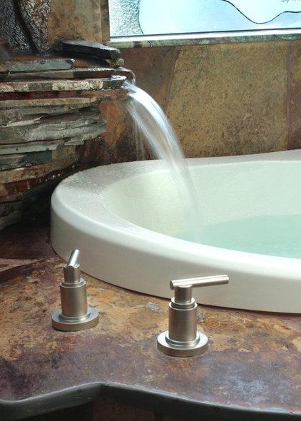 Tropical Bathroom by Sarah Ames