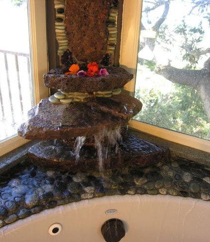 Tropical Bathroom by Bruce Rosenblum