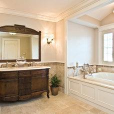 Traditional Bathroom by James Traynor Custom Homes