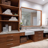 Bathroom of the Week: Teak Cabinetry and Universal Design