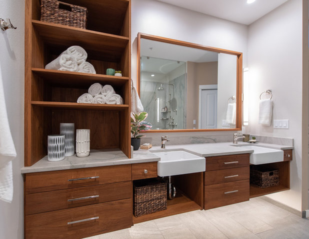 Contemporary Bathroom by Potter Construction Inc