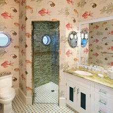 Beach Style Bathroom by Bruce Palmer Coastal Design