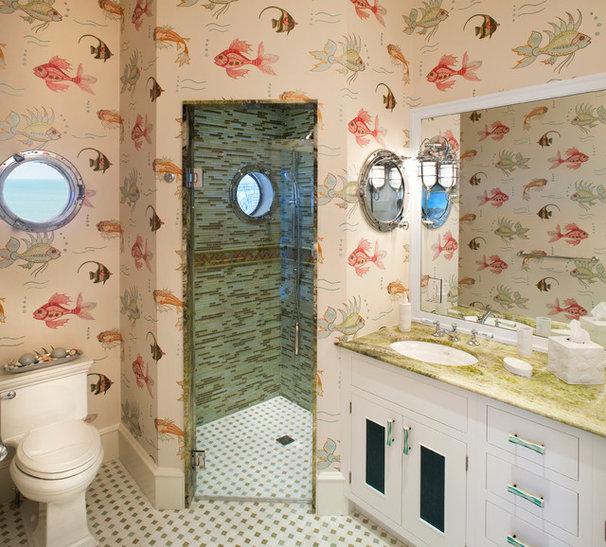 Beach Style Bathroom by Bruce Palmer Coastal Design