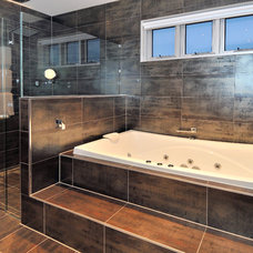 Contemporary Bathroom by Celcon Construction