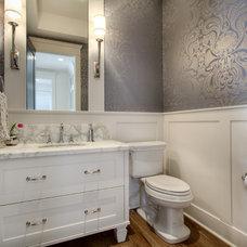 Traditional Bathroom by Veranda Estate Homes & Interiors