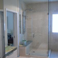 Contemporary Bathroom by Designers Hardwood Floors LLC