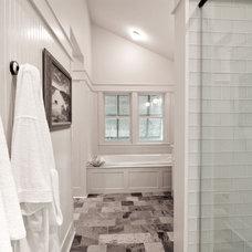 Beach Style Bathroom by Daniel M Martin, Architect LLC