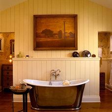 Farmhouse Bathroom by Cabochon Surfaces & Fixtures