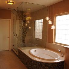 Contemporary Bathroom by Watry Construction