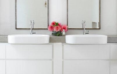 10 jolies façons d'intégrer des plantes à sa salle de bains