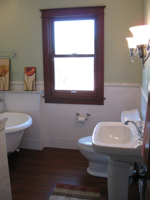 Waukesha Early 1900 S Home Bathroom Remodel